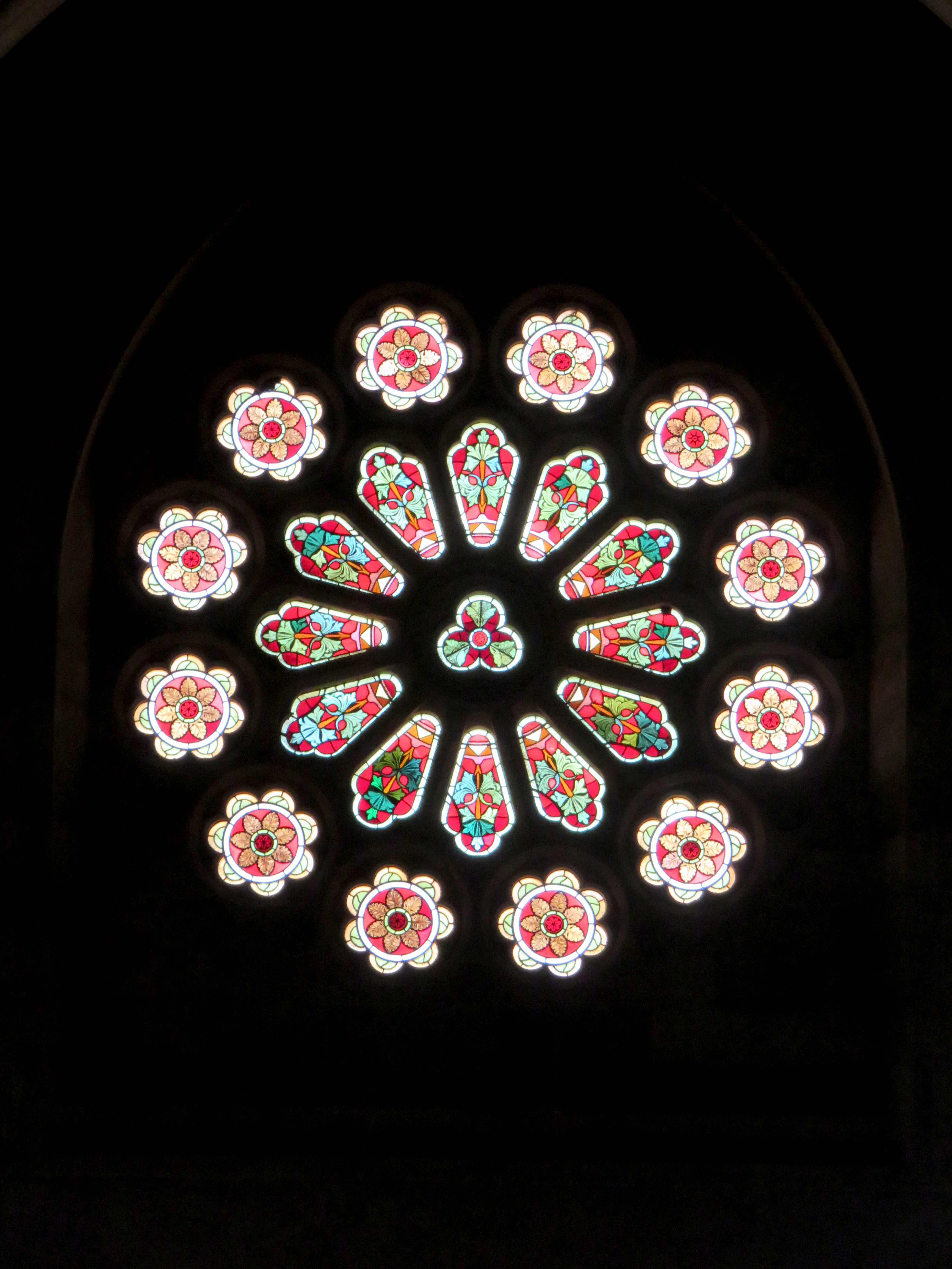 rose stained glass